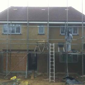 rendering, plastering services in Edinburgh