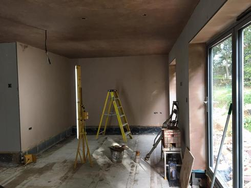 Full plastering in Edinburgh