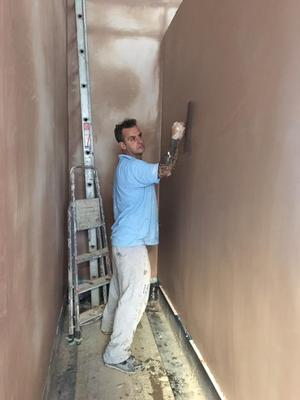 Wall plastering in Edinburgh